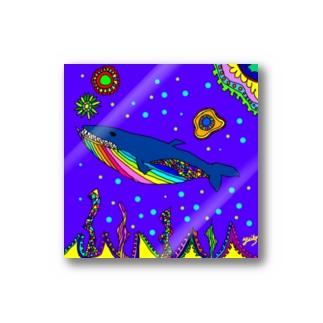 クジラ Stickers