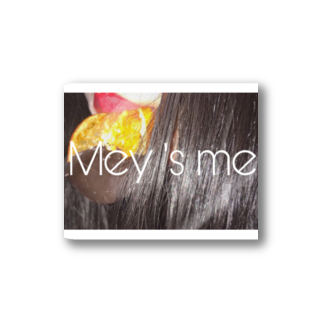 Mey's meのchocola orange Stickers