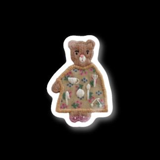 あなたにチャイのkuma Stickers