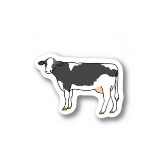 ウシ(ホルスタイン) Stickers