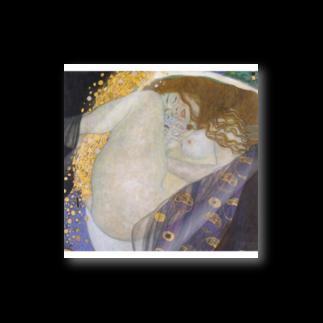 Art Baseのダナエ / グスタフ・クリムト ( Danae / Gustav Klimt 1908 ) Stickers