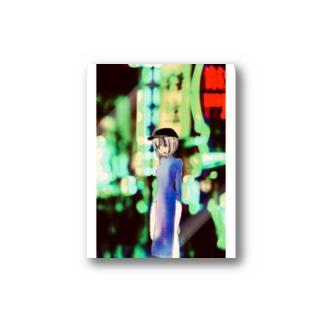 チャイナタウンガール Stickers