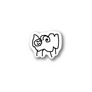 しおみひつじ Stickers