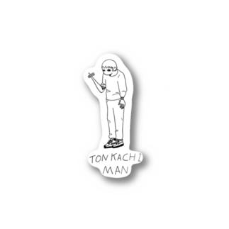 トンカチマン Stickers
