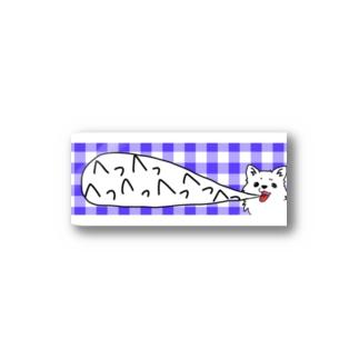 めっちゃいきのあらいいぬ Stickers