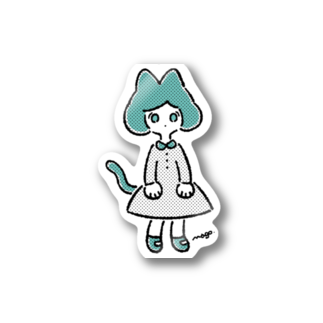 magoのねこさん's(カラー) Stickers