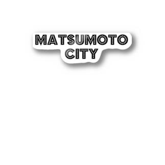 MATSUMOTO CITY Stickers