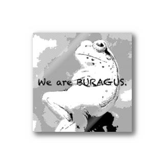 BURAGUSステッカー Stickers