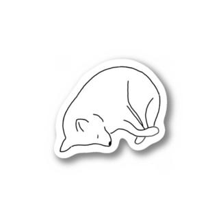 うちのいぬ  眠 Stickers