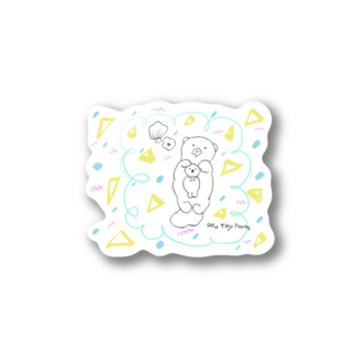 atta_aru_roomのらっこキャンディ Stickers
