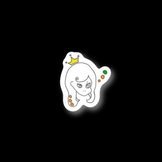 Kuma_tsuのつり目な姫 Stickers