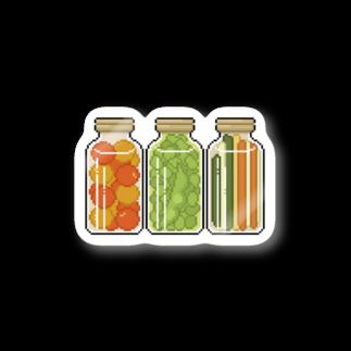 Tenのピクルス ドット絵  Stickers