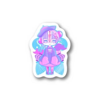 ビビッド キョンシーちゃん Stickers