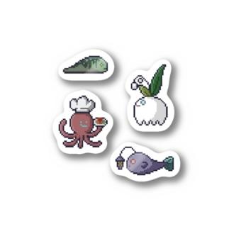 ドット絵 ともだち 2 Stickers