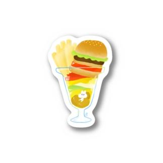 バーガーパフェ Stickers