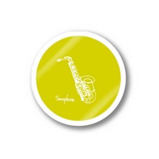 Saxophone Stickers