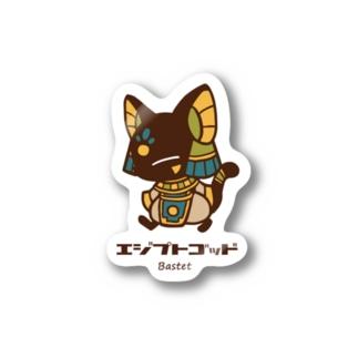 エジプトゴッドwithバステト Stickers