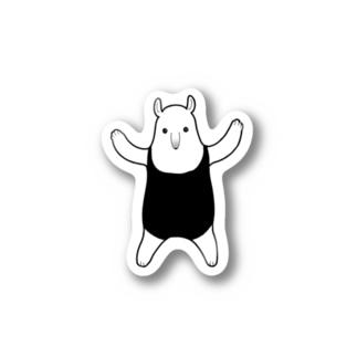 威嚇するコアリクイ Stickers