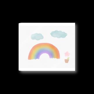 かな工房の虹がかかったよ Stickers