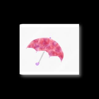 かな工房のあじさい色の傘 Stickers