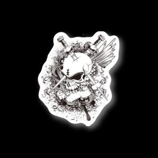 IZANAGIのドクロ~~ Stickers