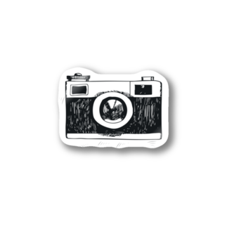 IZANAGIのレトロなカメラ Stickers