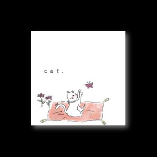 Filsの猫と蝶 Stickers