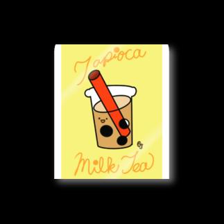 gajigajilandのタピオカミルクティーs Stickers