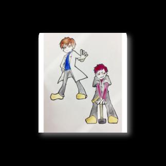 hentouの男二人 Stickers