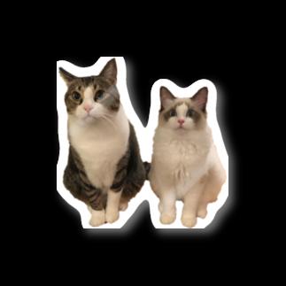しゃぶしゃぶとぽん酢ฅのしゃぶちとぽん酢ฅ Stickers