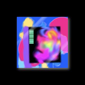 -ishのNEON BLACK  Stickers