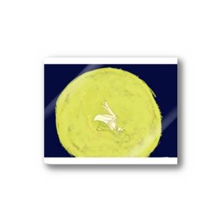moonsidegirlステッカー Stickers