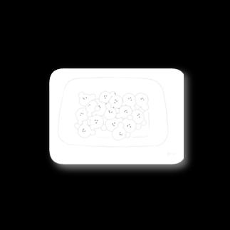 kaunisの白玉のくま Stickers