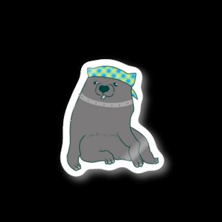 mugioのあの犬/夏だもの Stickers