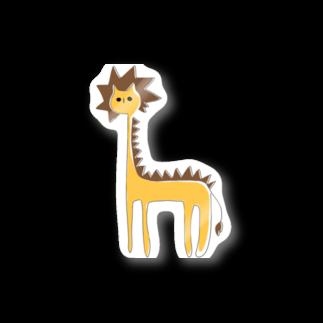 フクダナゴの長いライオン Stickers