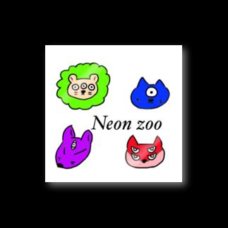 魔王店のneonzoo Stickers