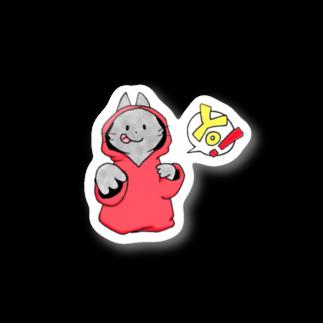 SHIMSHIMPANの猫ラッパー? Stickers