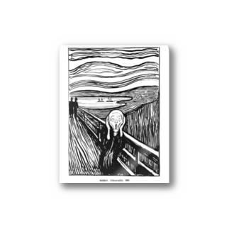 ムンク / 叫び / The Scream / Edvard Munch / 1895 Stickers