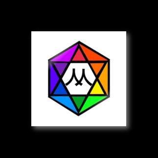 MedelBox™️ by MEDELの相対十二色相環 (Mマーク) Stickers