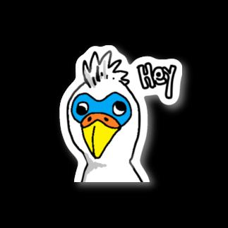 kiuchi_tatsuoのバードドットコム Stickers