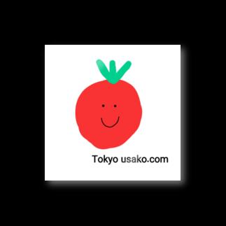 Tokyo usako.comのtomato Tokyo usako.com Stickers