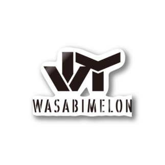 JのWASABI MELON Stickers