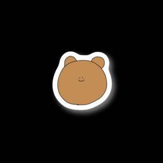 ライのくまちゃん(顔面) Stickers