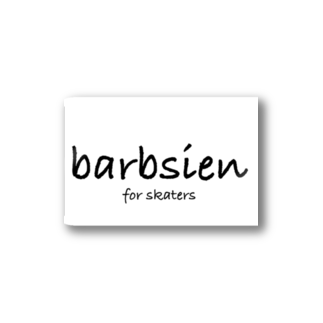 barbsienclothingのbarbsien for skaters Stickers