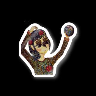 アトリエ葱の地球は私の手の中に Stickers