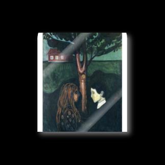 Art Baseのムンク / 1894 / Eye in Eye / Edvard Munch Stickers