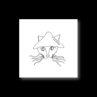 うまみのイカネコ(背景色なし) Stickers