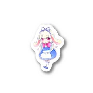 しろうさぎちゃん Stickers