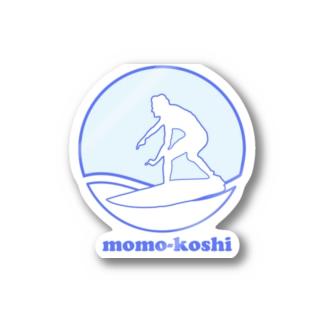 momo-koshi ride Stickers