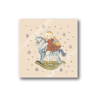 wooden horse Stickers